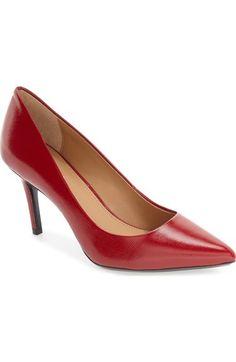 CALVIN KLEIN 'Gayle' Pointy Toe Pump (Women). #calvinklein #shoes #pumps