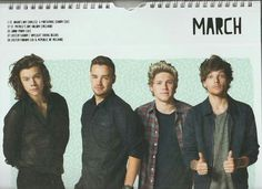 One direction for 2016 calander