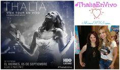 Thalia en Vivo, concierto directo desde México el 9/25/2014, por HBO Latino