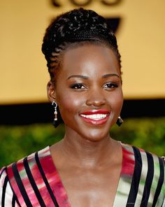 Lupita Nyong'o at the 2015 SAG Awards