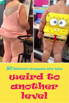 Walmart is a great place to get affordable everything, from toilet paper to clothes to produce to tools. And now, it has also become the place to catch sight of the strangest and most unique customers. Need proof? Here are 50 photos.