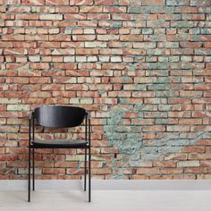 Create an urban-decayed look in your space with this rustic brick effect wallpaper with red tones and plaster effect. Buy now with fast & FREE UK delivery! Brick Wallpaper Mural, White Brick Wallpaper, Painted Brick Walls, Red Brick Walls, Industrial Wallpaper, Brick Texture, Wall Exterior, Red Bricks, Exposed Brick