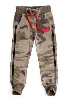 Vingino Sweatpant camouflage, fashion for Girls. Koflo.nl