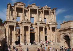 Library of Celsus, Ephesus, Turkey, Oct. 2013.