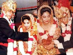 Shah Rukh Khan married his girlfriend Gauri when she was 21. At that time, SRK was struggling to make it large in the Bollywood industry. Initially, Gauri\'s parents were against their marriage because of SRK's religion. | www.indipin.com #Indipin
