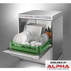 Look through the extensive range of commercial warewashers at Alpha catering Equipment. You can choose between features such as a single or double rack commercial dishwasher and compact or full sized commercial dishwashers of top brands at affordable prices.