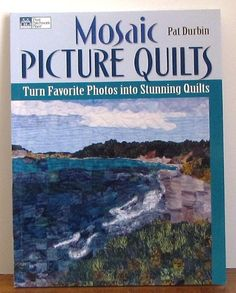 Art Quilt Pattern Book  Mosaic Picture by MourningDoveQuilts