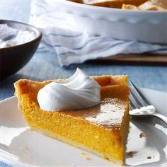Squash Custard Pie from Taste of Home