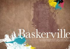 good layout in baskerville