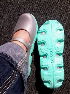 i found these really cute mary-jane Crocs! :)