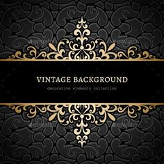 Buy Vintage Gold Floral Background by on GraphicRiver. Vintage gold background, divider, header, ornamental vector frame Main zip contains: + high resolution JPG + lay. Retro Background, Gold Background, Floral Frames, Free Wedding Templates, Ornamental Vector, Ornament Drawing, Hand Lettering Alphabet, Boutique Logo, Luxury Logo