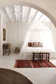 Peaceful // San Giorgio Mykonos Design Hotel Project // Discover your home decor personality at www.homegoods.com/stylescope