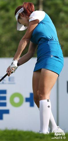Surprising All About Ladies Golf Ideas. Unutterable All About Ladies Golf Ideas. Girls Golf, Ladies Golf, Women Golf, Girl Golf Outfit, Sexy Golf, Golf Attire, Sexy Socks, Golf Wear, Golf Player