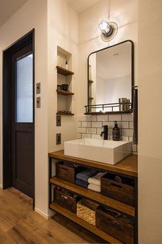 Japan Interior, Washroom Design, Home Room Design, Fashion Room, Model Homes, Modern House Design, House Rooms, Bathroom Interior, Home Furniture