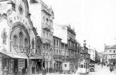 Urzaiz, 1925. Cine Odeón, inaugurado en 1917, demolido en 1969 para la instalación de un banco y viviendas.