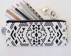 Zipper Pouches, Accessories, Original designs, Handmade in Paris. Cute Pencil Pouches, Cute Pencil Case, Pencil Bags, Mother Gifts, Gifts For Mom, Cool School Supplies, Desk Supplies, Small Tote Bags, Silk Screen Printing