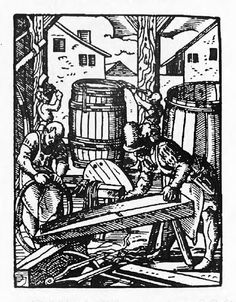 Barrelmakers - Jost Amman book of trades
