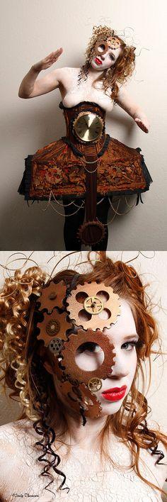Steampunk Mechanical Doll/Wind-Up Doll