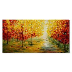 Landscape Painting Original Painting Large by TexturePainting