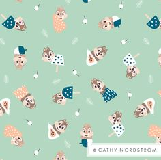 Chip And Dale Pattern - Cathy Nordstrom
