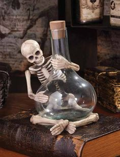 Potion Skelly Bottle from The Holiday Barn
