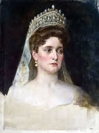 de vrouw van de tsaar. Alix van Hessen ze is geboren in Darmstadt (duitsland) en is getrouwd met Nicolaas in 1894.