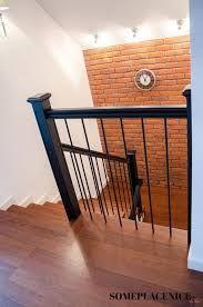 Znalezione obrazy dla zapytania schody czarne barierki