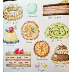 Instagram media mai.y.21 - ケーキ屋に引き続き、今日はケーキを(*´︶`*) 3時のおやつに間に合ったー #ロマンティックカントリー #コロリアージュ #塗り絵 #おとなのぬりえ #おとなの塗り絵 #大人の塗り絵 #色鉛筆 #ホルベイン #ホルベイン色鉛筆 #coloriage #adultcoloring #adultcolouringbook #holbein #romanticcountry #eriy #coloringbooks #coloringbook