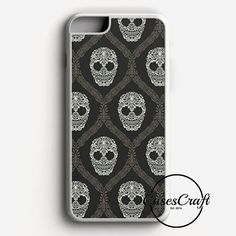 Beauty Skull Patern iPhone 7 Plus Case | casescraft
