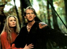 THE PRINCESS BRIDE: The best fairy tale ever!  Romantic, incredibly funny, so inventive, with characters that are infinitely quotable.  I never tire of it.