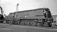 SR 4-6-2 Bulleid Light Pacific, West Country Class 'Bideford' by Bullied at Eastleigh Works