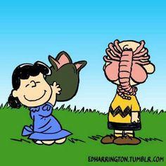 My 2 favorites! Peanuts and Alien!