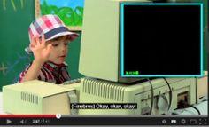 Nos enfants face à nos vieux ordinateurs