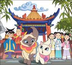 """Wait, so Im  not the only one who remembers this?"" I remember this! Saga the Siamese Cat"