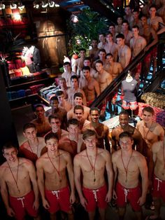 hollister models.. wouldn't you love to be in that room?!
