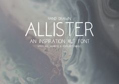 Allister – Hand Drawn Font Download