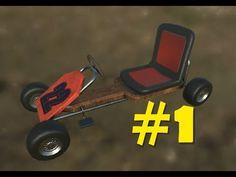 Blender to Unity - Modelling a Go Kart - Part 1 - Blender Modelling 01