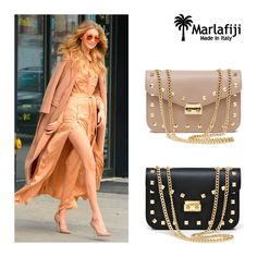 Love this ROCK CHIC vibe shoulder bag Jess! Look like a supermodel ‪#‎GigiHadid‬ with our elegant yet edgy bag. Just landed from Italy and available in Beige and Black... Perfect bag all year around ! heart emoticon Grab them here Jess Beige: marlafiji.com/…/jess-beige-gold-studded-italian-leather-sho… Jess Black: marlafiji.com/…/jess-black-studded-italian-leather-shoulder… FREE SHIPPING WITHIN AUSTRALIA www.marlafiji.com ‪#‎marlafiji‬ ‪#‎jessbag‬ #gigihadid ‪#‎modelbag‬ ‪#‎designerbag‬ ‪