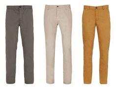 ¿Os gustan los pantalones de colores diferentes?
