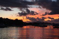 Cruz Bay, St. John, USVI Sunset