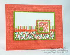 Dawn O's Fresh Vintage Coral (?) card