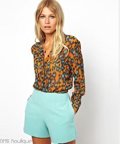 Camisa Leopardo - Ref.182 — DMS Boutique