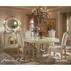 Jessica McClintock Dining Room Furniture  (Silver Snow)