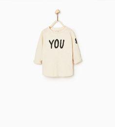 """Zara T-Shirt """"You & me"""""""