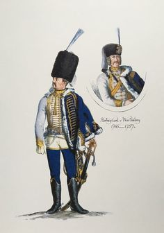 Prussia; 3rd  Hussars, Officer by Adolph Menzel