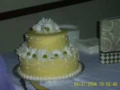 Taryn's Cake Creations-- One of the first cakes I've made, it was for my Grandparent's 50th wedding anniversary