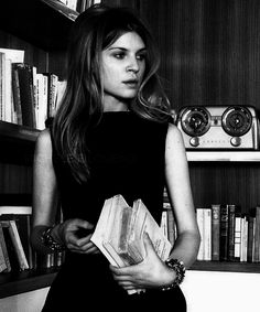 Clémence Poésy photographed by Max Vadukul for Vogue Italia,...