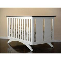 Shop Eden Baby Furniture 90210 Madison Crib at ATG Stores. Browse our cribs… Modern Baby Cribs, White Baby Cribs, Nursery Modern, Nautical Nursery, Nursery Furniture, Kids Furniture, Furniture Decor, Nursery Crib, Furniture Cleaning