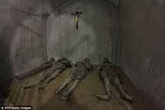 Not just church officials: Monks and supporters of the religious order were buried in the ...