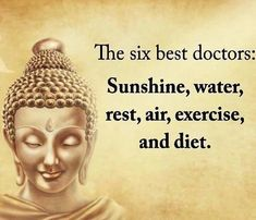 Happy Quotes : Six best doctors. - Hall Of Quotes Great Quotes, Quotes To Live By, Me Quotes, Motivational Quotes, Inspirational Quotes About Health, Wisdom Quotes, Amazing Quotes, Sucess Quotes, Inspire Quotes